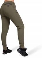 Celina Drop Crotch Joggingsbroek - Legergroen-2