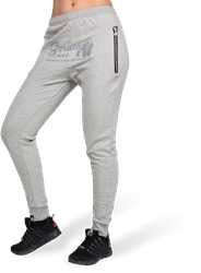 Celina Drop Crotch Joggers - Gray