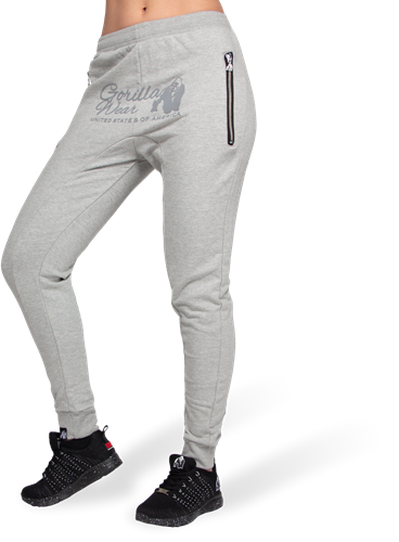 Celina Drop Crotch Joggingsbroek - Grijs
