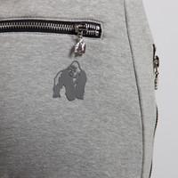 Celina Drop Crotch Joggers - Gray - Detail