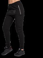 Celina Drop Crotch Joggingsbroek - Zwart