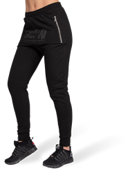 Celina Drop Crotch Joggers - Black
