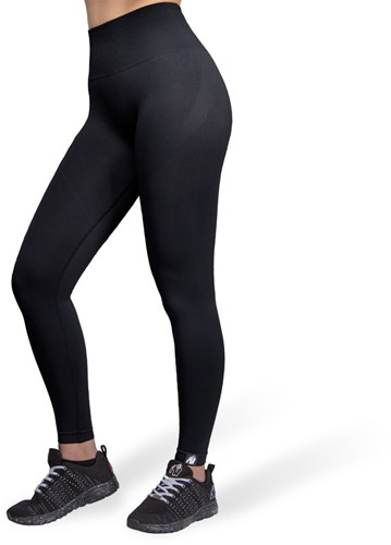 Yava Seamless Leggings - Zwart