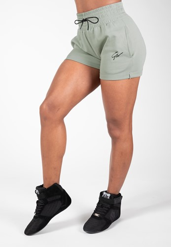 Pixley Sweatshorts - Light Green