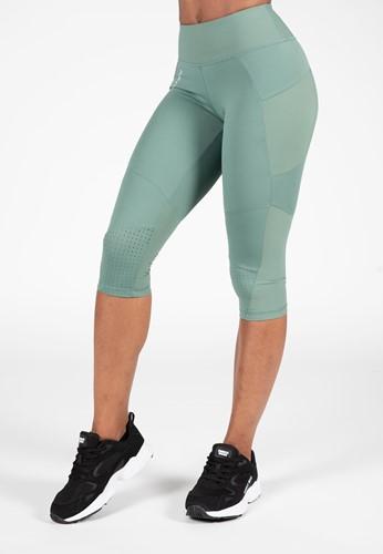 Monroe Cropped Leggings - Groen