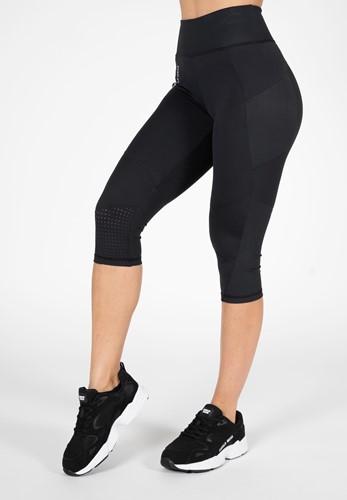 Monroe Cropped Leggings - Zwart