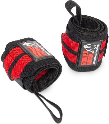 Wrist Wraps PRO - Zwart/Rood