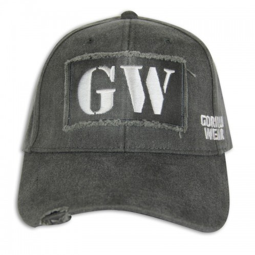 GW Washed Cap Gray-3