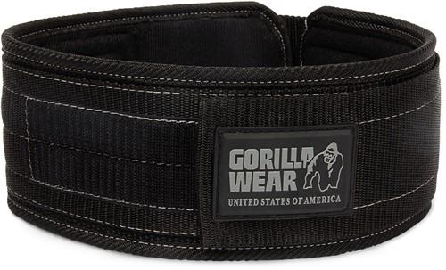 Gorilla Wear 4 Inch Nylon Halterriem - M/L