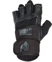 Dallas Wrist Wrap Gloves - Black