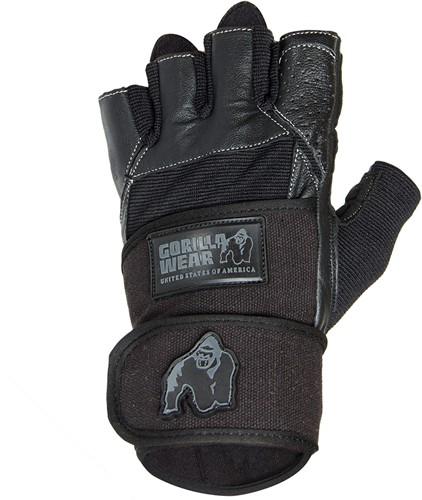 Dallas Wrist Wrap Handschoenen - Zwart