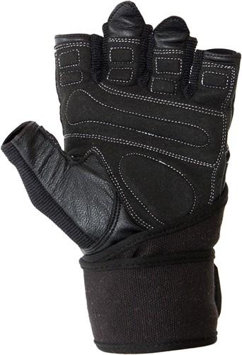 Dallas Wrist Wrap Gloves - Black-2