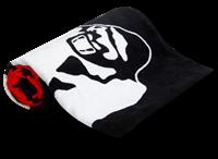 Classic Gym Towel - Zwart/Rood-2