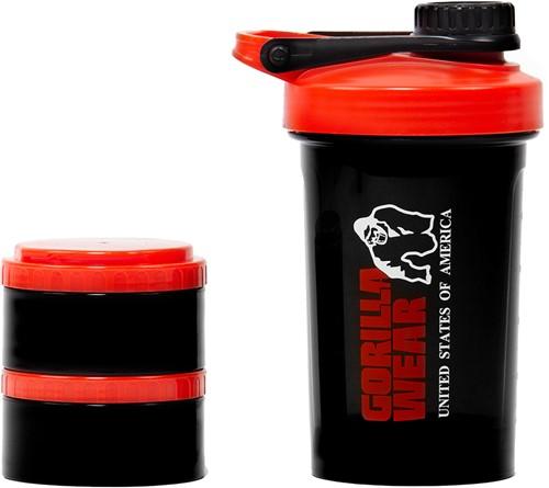 Shaker 2 GO - Zwart/Rood-3