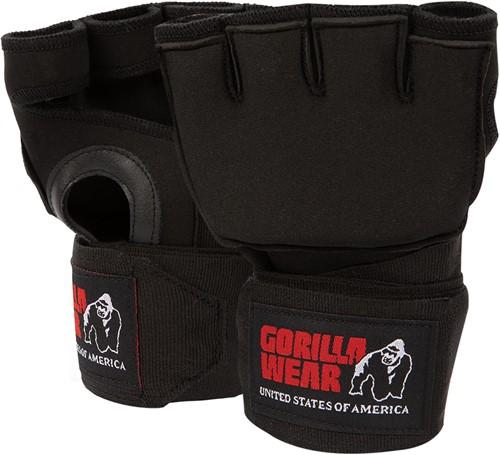 Gel Handschoen met Omslag - Zwart/Wit