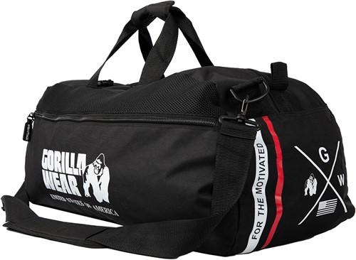 Norris Hybrid Gym Bag/Backpack - Black