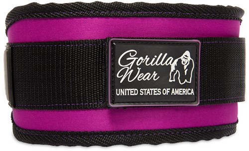Women's Lifting Belt Black/ Purple