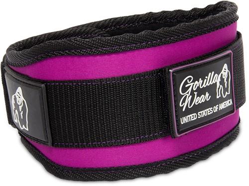 Women's Lifting Belt - Black/ Purple