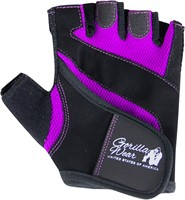 Women's Fitness Gloves - Zwart/Paars