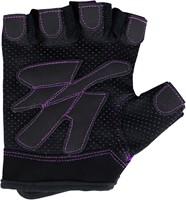 Women's Fitness Gloves - Zwart/Paars -2