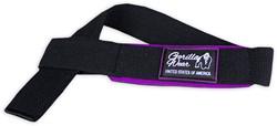 Women's Padded Lifting Straps Black/Purple