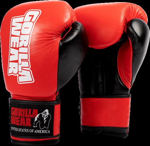 Ashton Pro Bokshandschoenen - Rood/Zwart