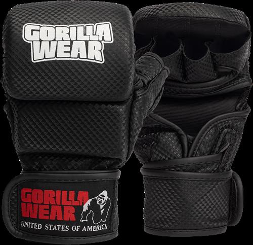 Ely MMA Sparring Handschoenen - Zwart/Wit