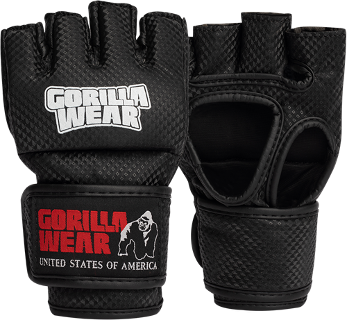 Berea MMA Gloves (Without Thumb) - Black/White