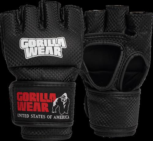 Berea MMA Handschoenen (Zonder Duim) - Zwart/Wit