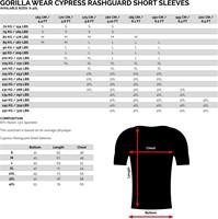Cypress Rashgurad Short Sleeves Maattabel