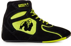 "Chicago High Tops - Black/ Neon Lime ""Limited"""