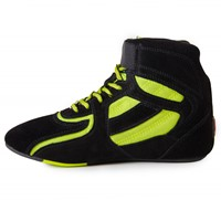 Chicago High Tops - Zwart/Neon Lime Limited-3