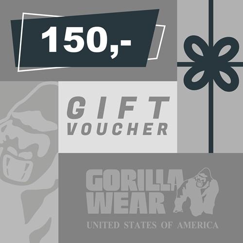 Gorilla Wear Cadeaubon 150