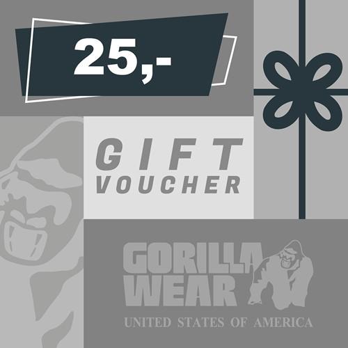 Gorilla Wear Cadeaubon 25