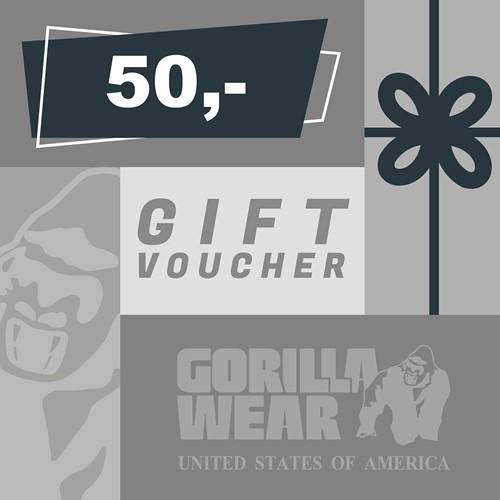 Gorilla Wear Cadeaubon 50