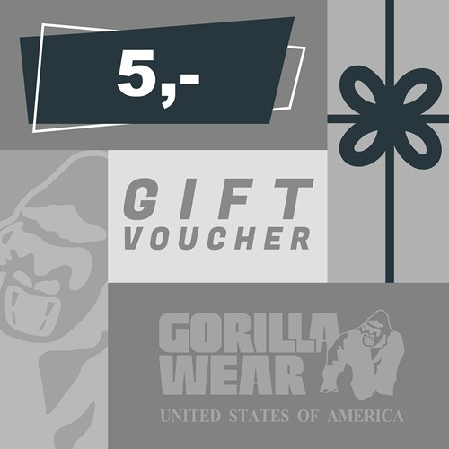 Gorilla Wear Gift Voucher 5