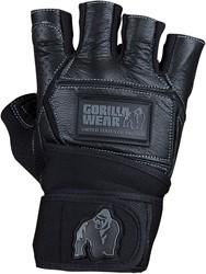 Hardcore Wrist Wraps Gloves Black
