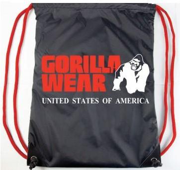Gorilla Wear Koordtas - Zwart/Rood