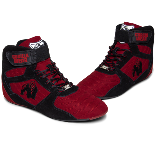 Perry High Tops Pro - Rood/Zwart -3