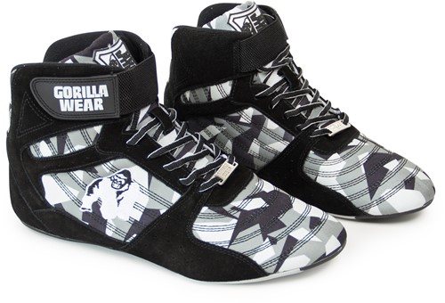 Perry High Tops Pro - Zwart/Grijs Camo -2