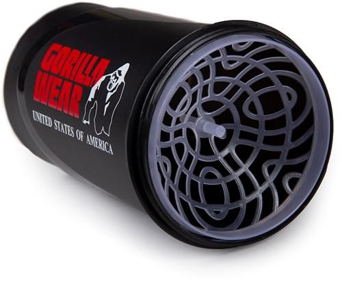 Gorilla Wear Wave Shaker 600ML - Zwart/Rood-3