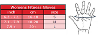 Women's Fitness Gloves - Zwart/Paars -3