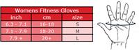 Women's Fitness Handschoenen - Zwart/Paars -3